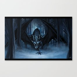 Ice Dragon Canvas Print
