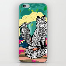 Fox in the Forest iPhone & iPod Skin