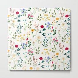 Spring Botanicals Metal Print