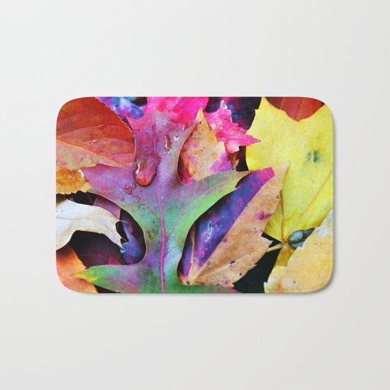 Colors of Autumn Bath Mat