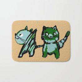 Friends cats Bath Mat