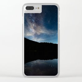 Summer Stars in the Smokies Clear iPhone Case