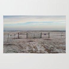 Snowy Gate Rug
