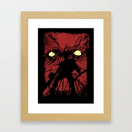 From The Book Framed Art Print