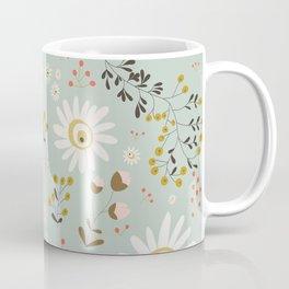 Gold Daisy Coffee Mug