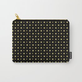 Twinkling Sparkling Golden Stars Carry-All Pouch