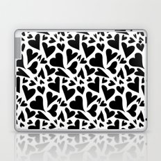 black hearts Laptop & iPad Skin