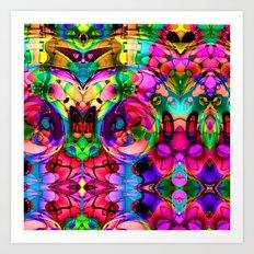Frank Bonnila Abstract Art Print