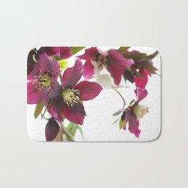 Flower impression Bath Mat