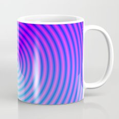 Coiled in Blue and Pink Coffee Mug