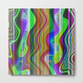 RADIO CHANNEL WAVES Metal Print