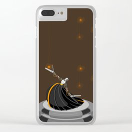 Robot Dancer Clear iPhone Case