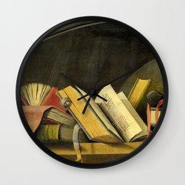 Book life Wall Clock