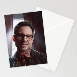 Control Is An Illusion - F Society - Mr Robot Stationery Cards