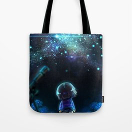 Starry (Night) Undertale Tote Bag