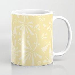Yellow Spring Pattern Coffee Mug