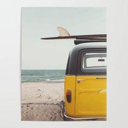 Summer surfing Poster