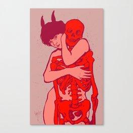 beauty-death Canvas Print