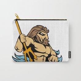 Neptune Poseidon Trident  Retro Carry-All Pouch