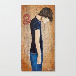 Careless Lazy Lover 2 Canvas Print