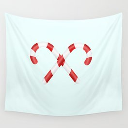 Christmas candys Wall Tapestry
