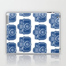 I Still Shoot Film Holga Logo - Blue Laptop & iPad Skin