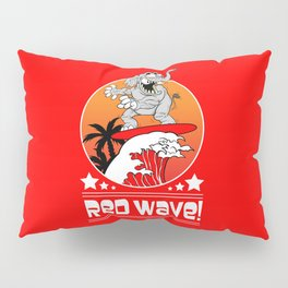 Republican Elephant Red Wave Midterm Vote 2018 Pillow Sham