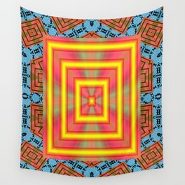 Heaven Or ell? Wall Tapestry