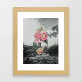 320 - there are thorns underneath Framed Art Print