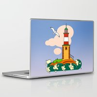lighthouse Laptop & iPad Skins featuring Lighthouse by LaDa