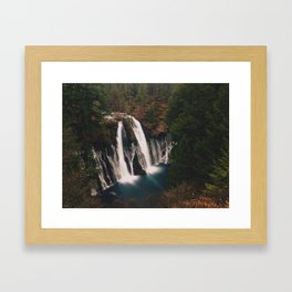 McArthur–Burney Falls Framed Art Print
