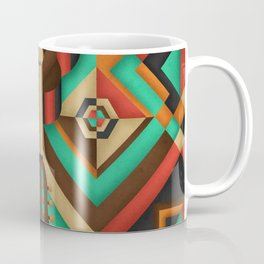 Geometric Guitar Coffee Mug