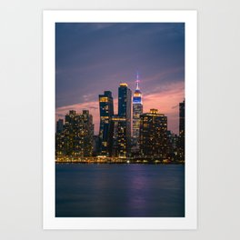 Empire State New York City Art Print