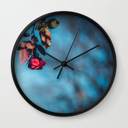 Elegance Everywhere - Rose Wall Clock