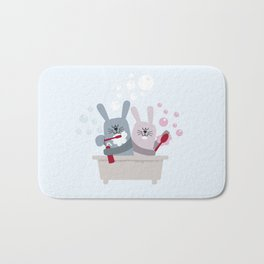 Conejitos / Bunnies Bath Mat