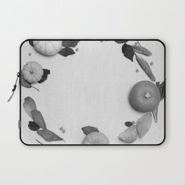 Harvest Circle (Black and White) Laptop Sleeve