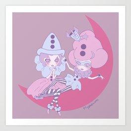 Petite Pierettes Art Print