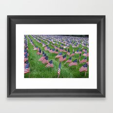 Don't Forget, America! Framed Art Print