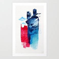 This is my town Art Print