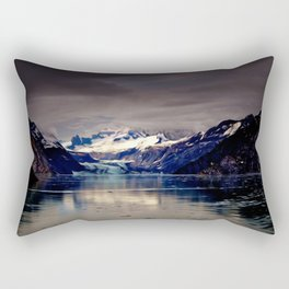 Purple Mountain Rectangular Pillow