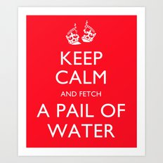 Keep Calm, Jack Art Print