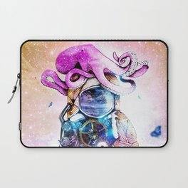The spaceman & the octopus Laptop Sleeve