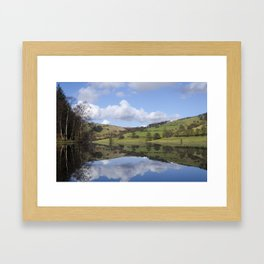 Ladybower reservoir Framed Art Print