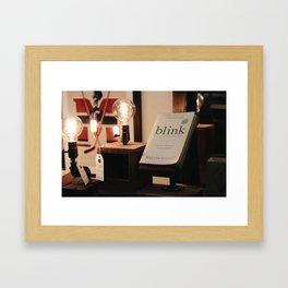 Edison Bulbs | Cozy Lighting Framed Art Print
