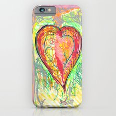 torn heart Slim Case iPhone 6s
