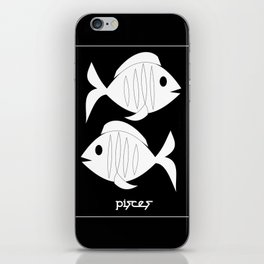 Fishes ~ Pisces ~ Zodiac series iPhone Skin