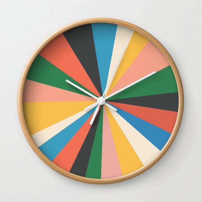 Always The Sun Wall Clock