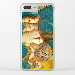Channeling the Classics Clear iPhone Case