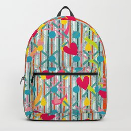 Hearty color strips Backpack