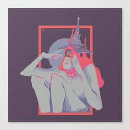 Trapped Princess Canvas Print